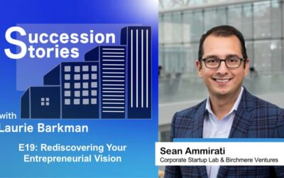 E19: Rediscovering Your Entrepreneurial Vision – Sean Ammirati