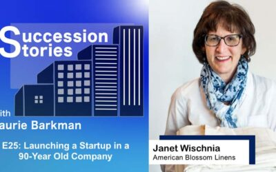 E25: Launching a Startup in a 90-Year Old Company – Janet Wischnia