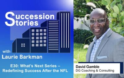 E30: What's Next Series | David Gamble – Redefining Success After the NFL