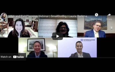 [Video] M&A and Exit Planning Trends 2021
