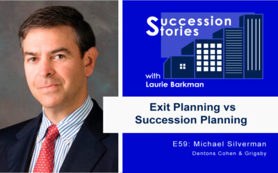 59: Exit Planning vs Succession Planning – Mike Silverman, Dentons Cohen & Grigsby