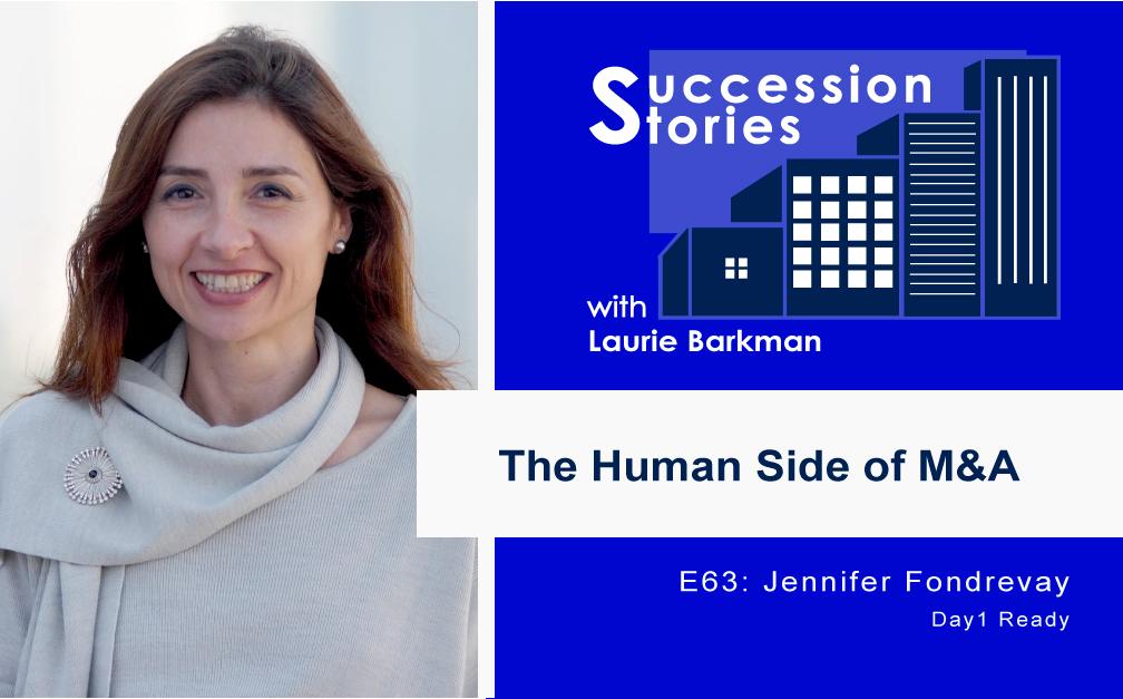 63: Human Side of M&A Deals | Jennifer Fondrevay